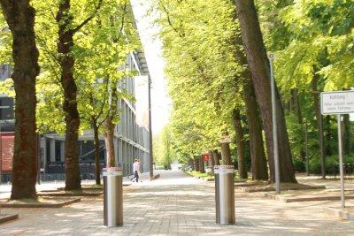 Sicherheitspoller Stadion Köln